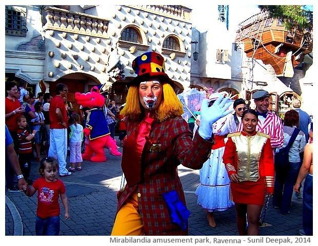Mirabilandia theme park, Savio, Italy - images by Sunil Deepak, 2014