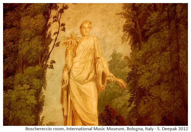 International music museum Bologna, Italy - images by Sunil Deepak, 2012