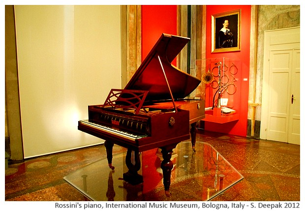 International music museum Bologna, Italy - images by Sunil Deepak, 2012