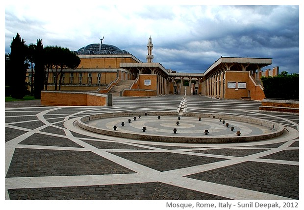 Mosque, Rome, Italy - images by Sunil Deepak, 2012