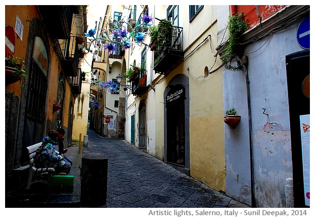 Salerno, Italy - images by Sunil Deepak, 2014