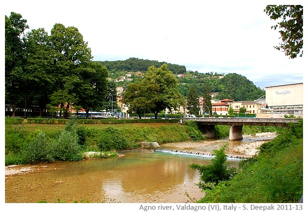 Agno river, Valdagno, family story - S. Deepak, 2011-13