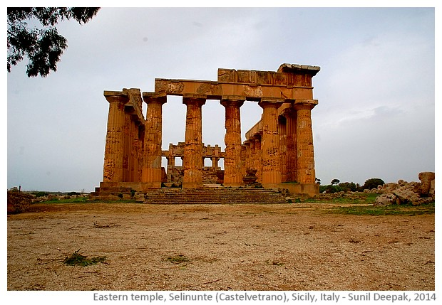 Temple of Hera, Selinunte, Castelvetrano, Sicily, Italy - images by Sunil Deepak, 2014