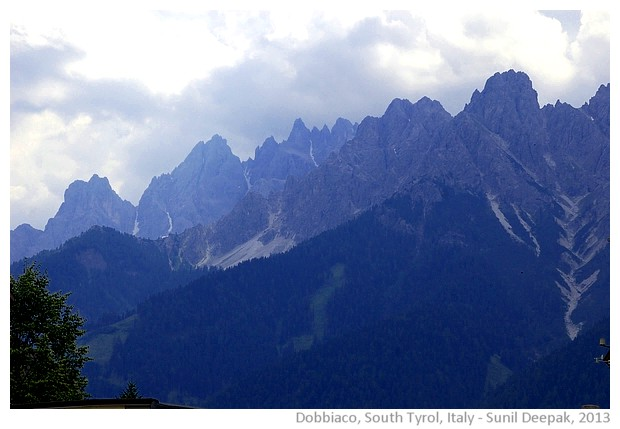 South Tyrol, Italy - images by Sunil Deepak, 2013