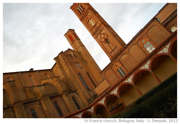 St Francis church Bologna, Italy - images by S. Deepak