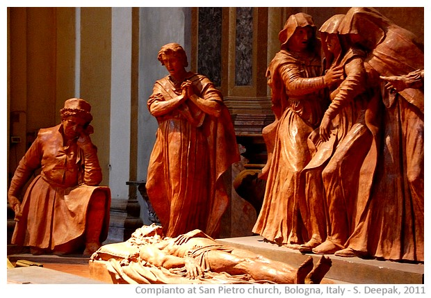 Compianto from St Peter church in Bologna, Italy - images by S. Deepak