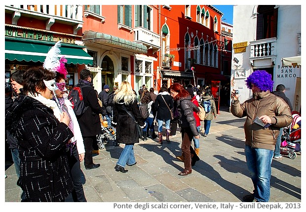 Venice walking tour, Italy - images by Sunil Deepak