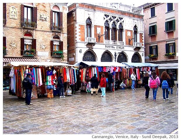Venice walking tour, Italy - images by Sunil Deepak
