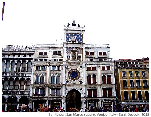Venice walking tour, San Marco square, Italy - images by Sunil Deepak