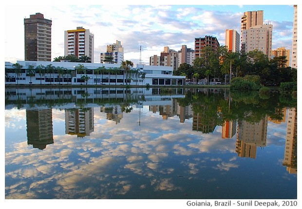 Water & colours - Goiania Brazil - images by Sunil Deepak, 2010