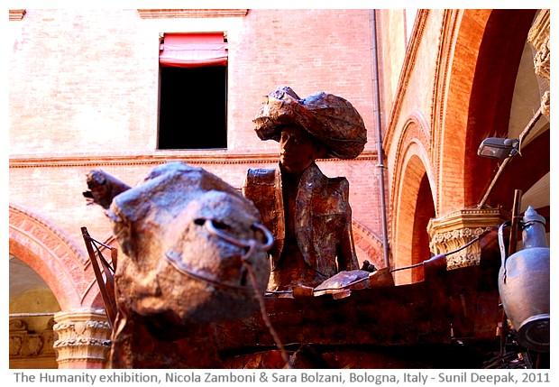 The Humanity Exhibition, Sculptures by Nicola Zamboni & Sara Bolzani - images by Sunil Deepak, 2014
