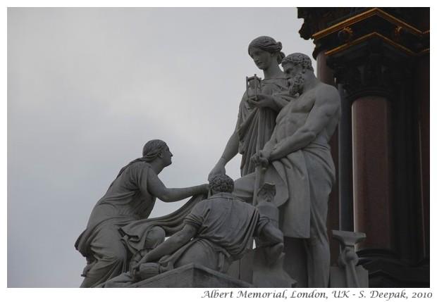 Prince Albert Memorial, London, UK