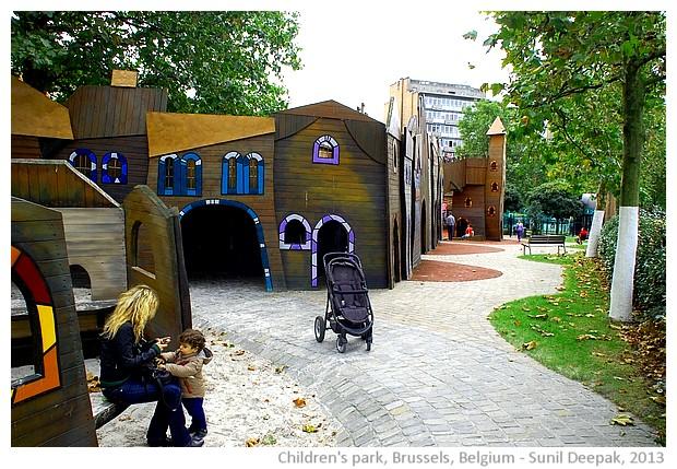 Children park, Brussels, Belgium - Sunil Deepak, 2013