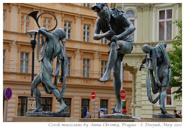 Czech musicians by Anna Chromy, Prague - images by S. Deepak, 2011