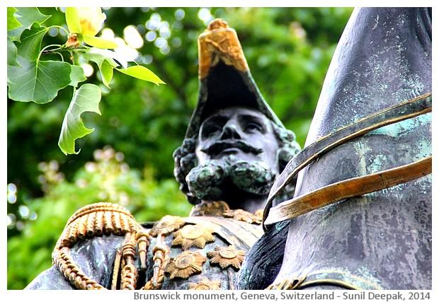 Karl II duke of Brunswick monument, Geneva, Switzerland - images by Sunil Deepak, 2014