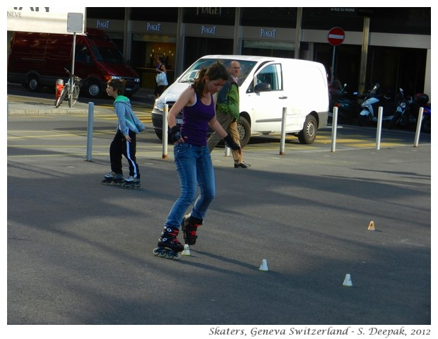 Skaters in Geneva, Switzerland - S. Deepak, 2012