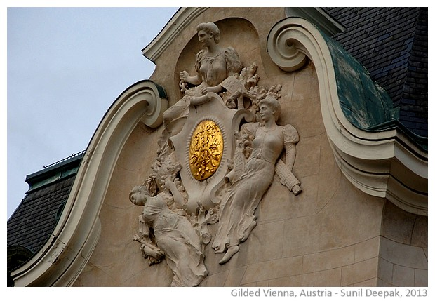 Gilded Vienna, Austria - images by Sunil Deepak, 2013