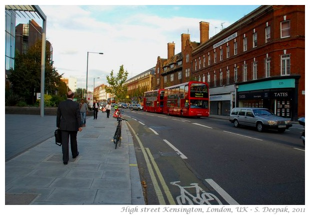 High street Kensington, London, UK - S. Deepak, 2011