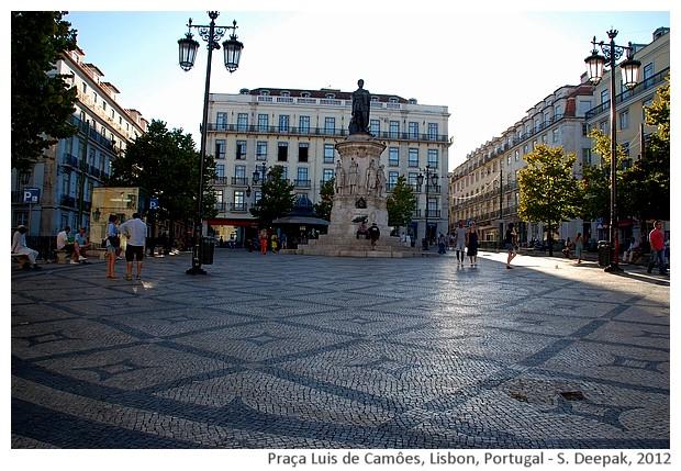 Luis de Camoes square, Lisbon, Portugal - S. Deepak, 2012