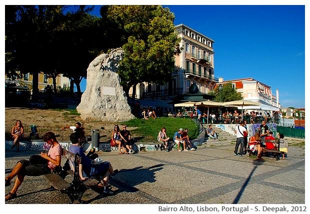 Lisbon views, Bairro Alto - Portugal - S. Deepak, 2012