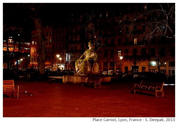 Place Carnot, Lyon, France - S. Deepak, 2013