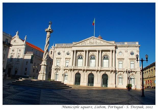 Municiple square, Lisbon, Portugal - S. Deepak, 2012