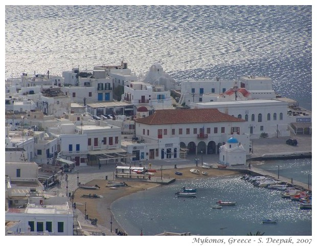 Evening in Mykonos, Greece - S. Deepak, 2007