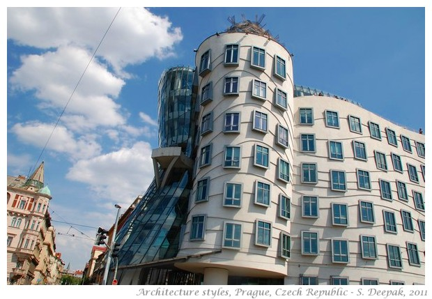 Twentieth century architecture styles in Czech republic - S. Deepak, 2011