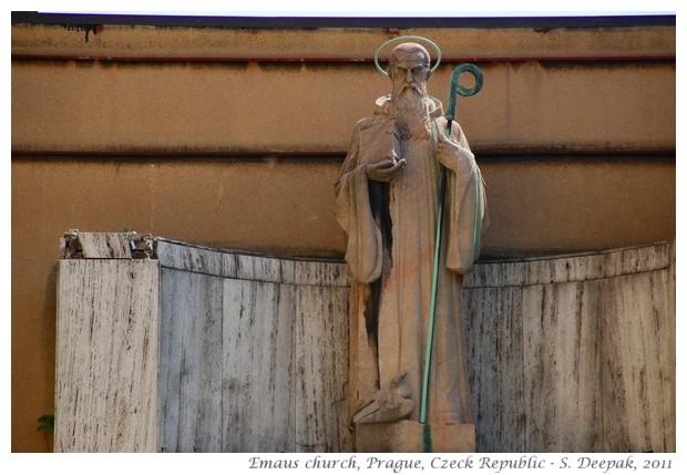 Emaus church, Prague, Czech republic, images by S. Deepak