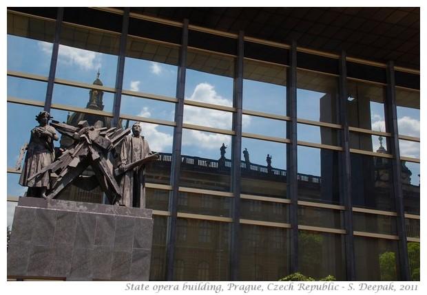 State opera house, Prague, Czech Republic - Images by S. Deepak