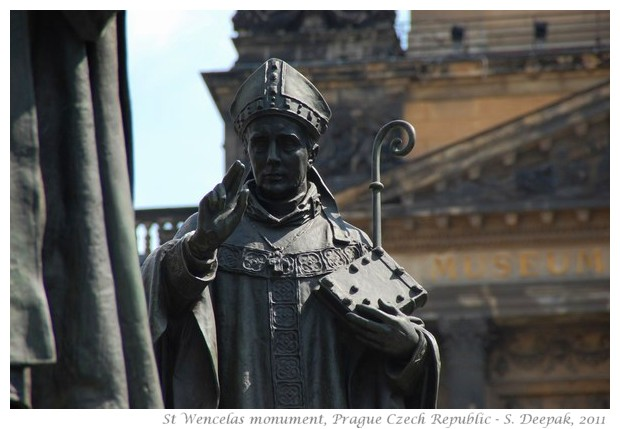 St Wencelas monument, Prague, Czech Republic - images by S. Deepak