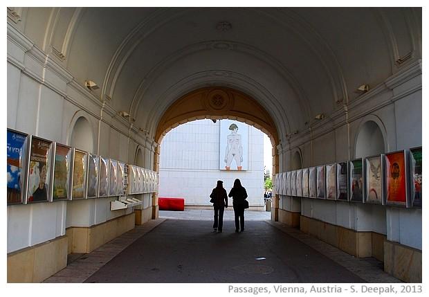 Passages of Vienna, Austria - Images by S. Deepak 2013