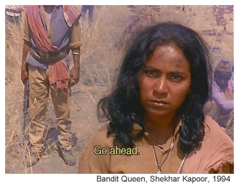 Still from Bandit Queen, by Shekhar Kapoor, 1994