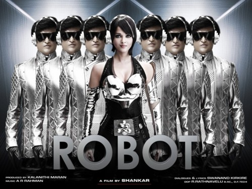 Poster, Robot Rajnikanth by Shanker