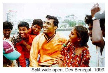 Still from Split wide open, by Dev Benegal, 1999