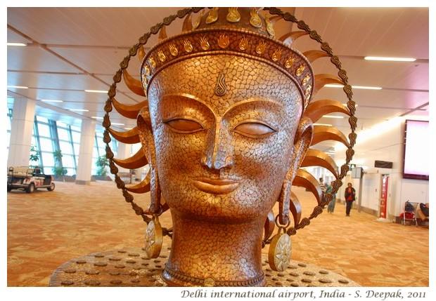 Indian art at Delhi airport - S. Deepak, 2012