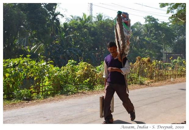 Village life, Amingaon, Assam, India - images by S. Deepak