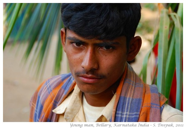 Young man, Bellary, Karnataka, India - S. Deepak, 2011