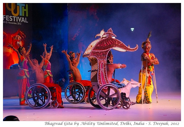 Bhagvad Gita dance drama, Ability Unlimited, India - S. Deepak, 2012