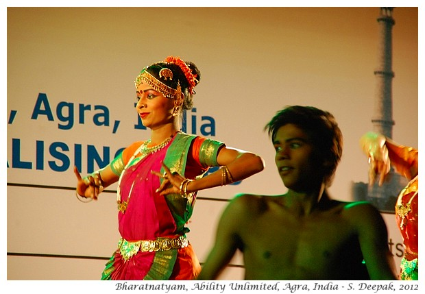 Ability Unlimited dancers, conference inauguration, Agra, India - S. Deepak, 2012