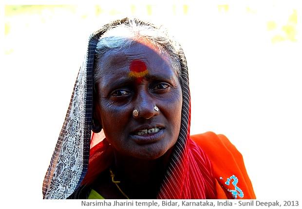 Narsimhi jharini cave temple, Bidar, Karnataka, India - images by Sunil Deepak, 2013