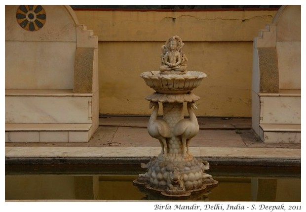 Statues in Birla Temple, Delhi - S. Deepak, 2011