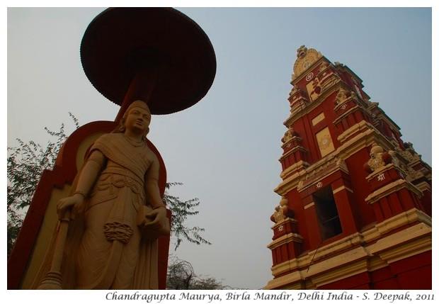 Chandragupta Maurya, Birla temple, Delhi - S. Deepak, 2011