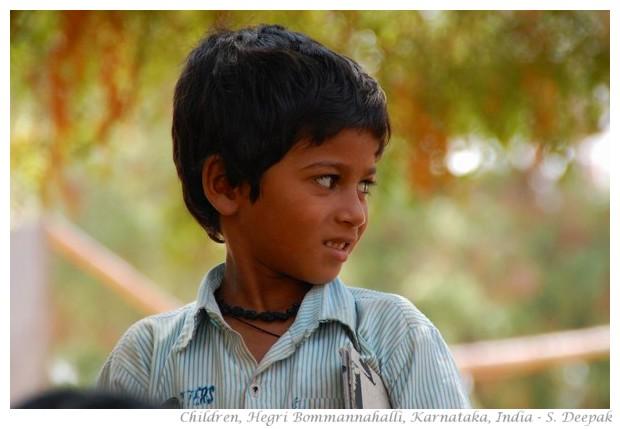 Children, north Karnataka, India