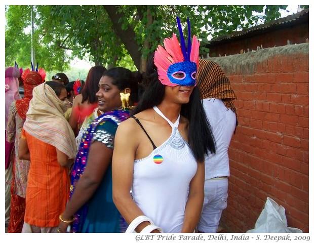 GLBT Pride Parade, Delhi India - S. Deepak, 2009