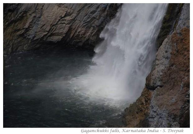 Gaganchukki falls, Karnataka, India - images by S. Deepak