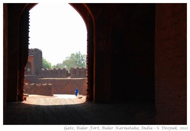 Entrance gate, Bidar fort India - S. Deepak, 2011