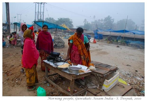 Morning, Guwahati Assam, India - images by S. Deepak