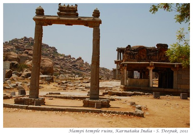 Ruins of Hampi, Karnataka, India - images by S. Deepak
