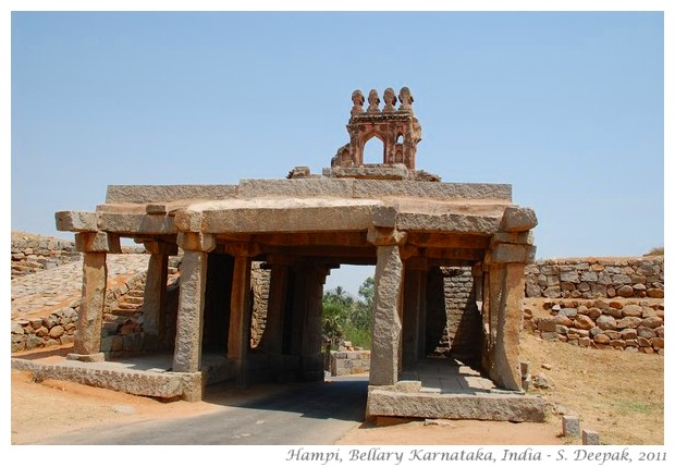 Entrance, Hampi, Bellary, India - images by S. Deepak